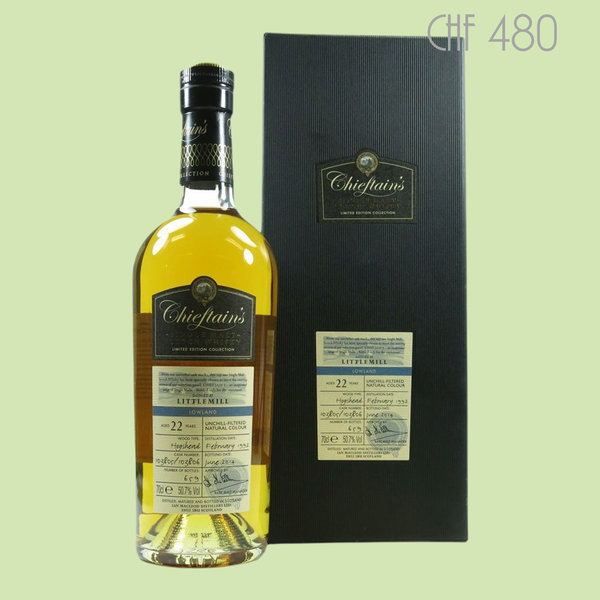 Chieftain's Littlemill 22 years
